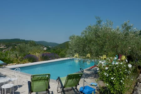 Charming villa in Provence, cosy and quiet - Solliès-Toucas - Haus