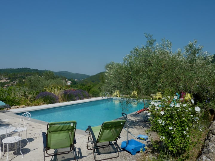 Charming villa in Provence, cosy and quiet