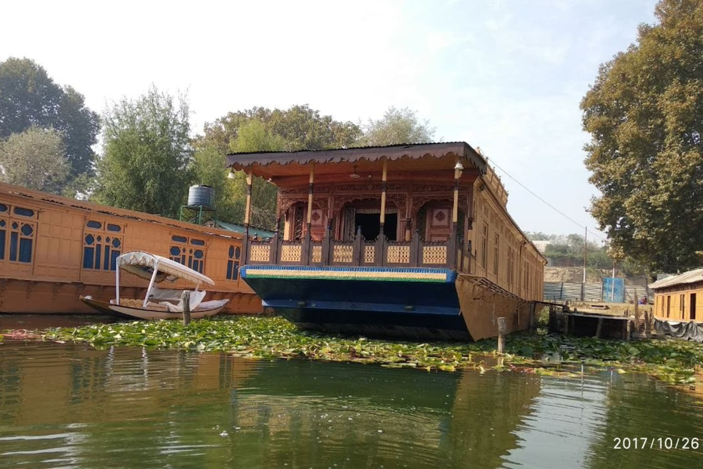 Houseboat Exterior
