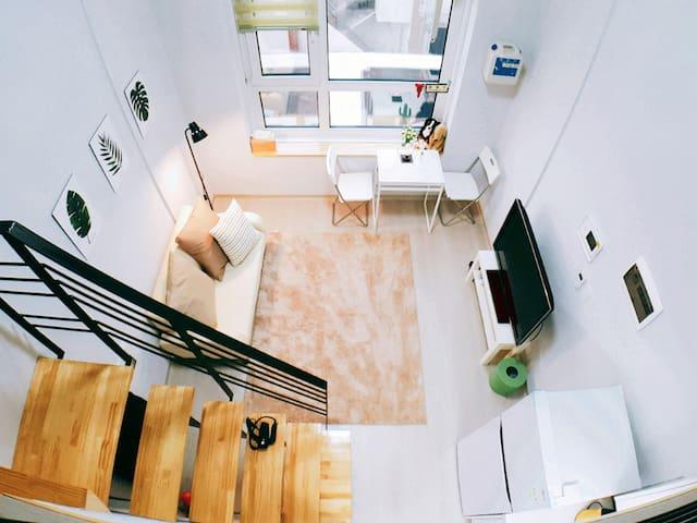 Loft House - 1 min Metro (In Gangnam) #306