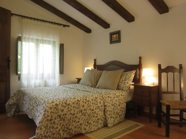 Finca Vegana guest room no3 with en suite bathroom - Bocaleones - Bed & Breakfast