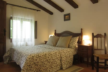 Finca Vegana guest room no3 with en suite bathroom - Bocaleones - B&B