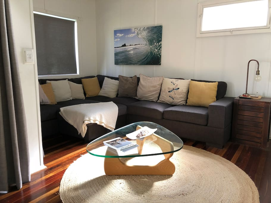 Shared lounge room