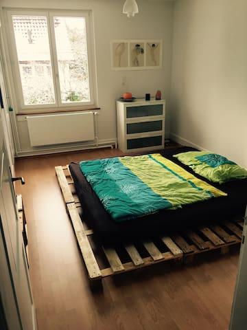 Zentrales Zimmer in der WG Casa Storta - Winterthur