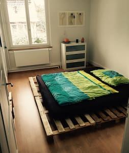 Zentrales Zimmer in der WG Casa Storta - Winterthur - Huis