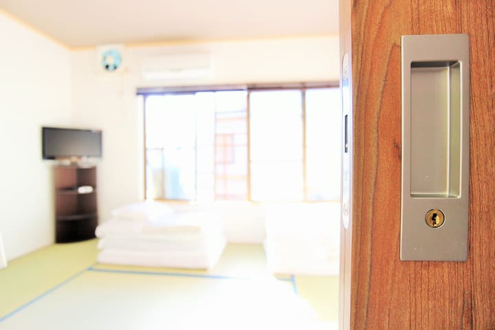 Private room1!KyotoGUESTHOUSE★Free WIFI&Bicycle★