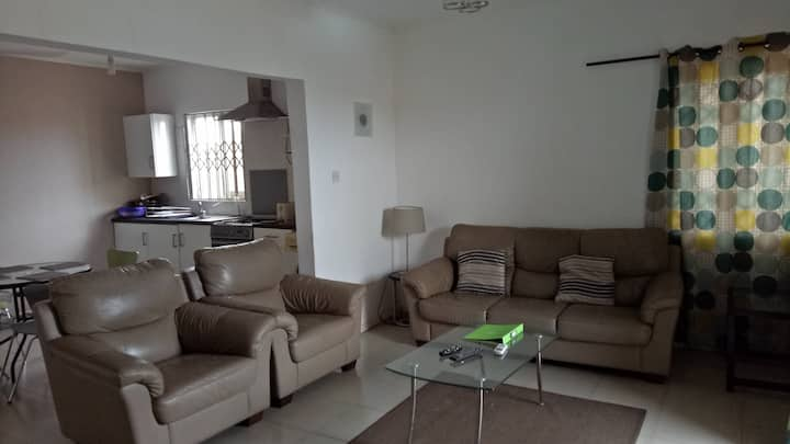 Spacious, one bedroom (furnished) apartment Accra