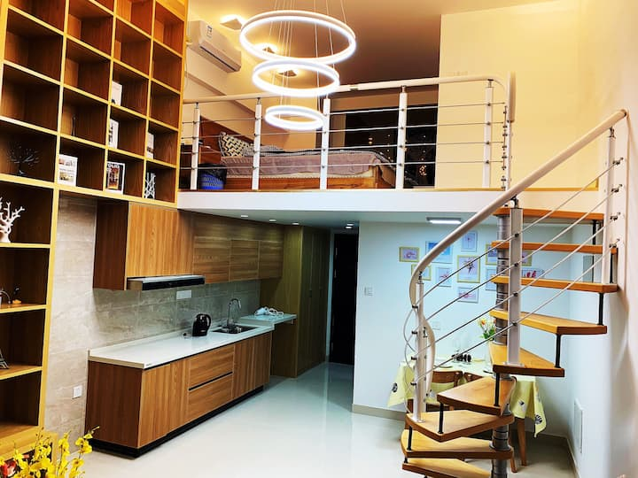 云香衣珊loft主题公寓大床房