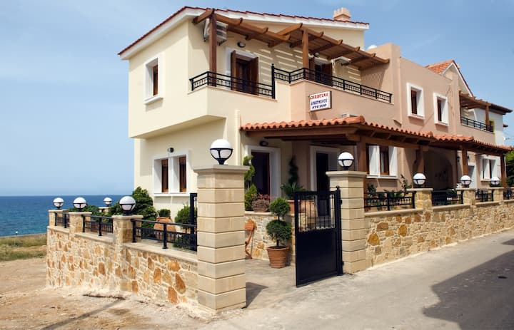 Apartment in Panormo with amazing sea view!