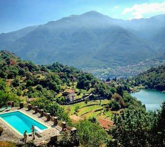 Amazing  Villa near Iseo Lake - angolo terme  angolo terme  - Rumah