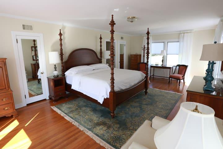 Master Bedroom at Homestead