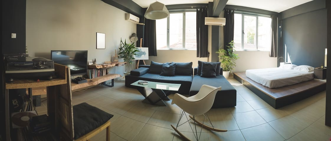 Loft in the heart of Athens
