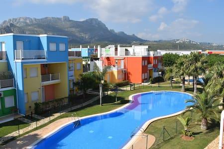 Apartamento de playa en PLANTA BAJA con piscinas - El Verger