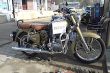 Royal Enfield Desert Storm 500 cc available for rent