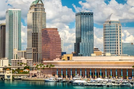 Quiet CHIC -Downtown Tampa! - Тампа