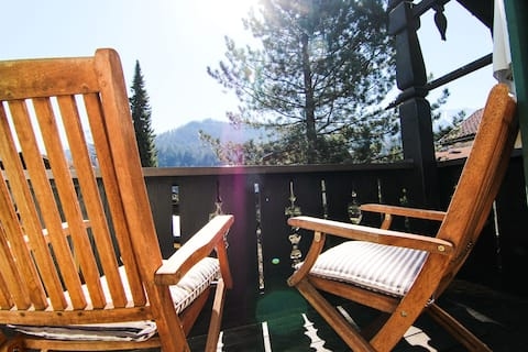 Cosy apartment in best location with mountain view