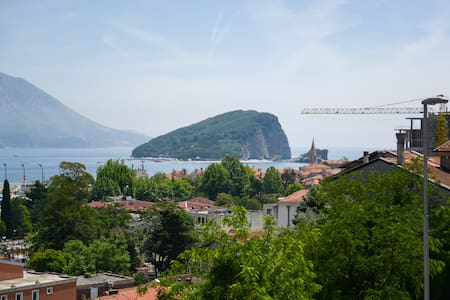 One-Bedroom Apartment with Sea View - Budva