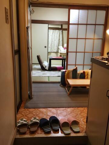 일본의 전통맛을 느낄수있는 다다미방입니다 TATAMI room - Edogawa - Apartment