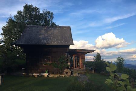 Ferienhaus in Alleinlage und mit toller Aussicht