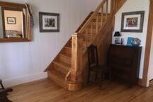 Escalier vers l'étage
