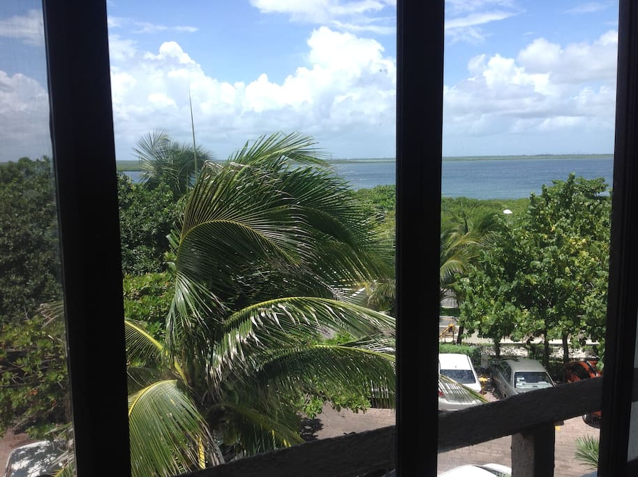 the view from your studio is hotel zone lagoon view
