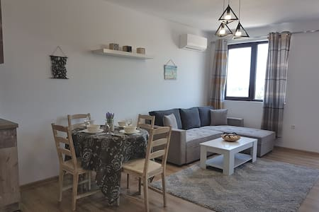 A cosy and modern newly built flat