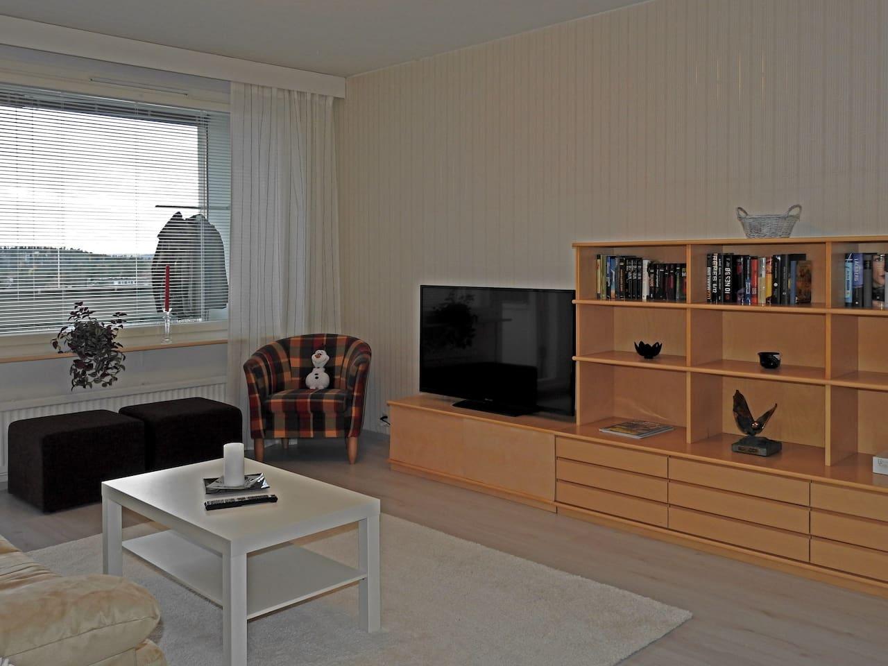 Cozy 58 sqm 2 room apartment, free parking