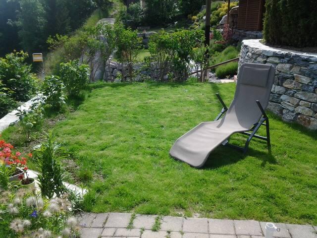 pelouse extérieure