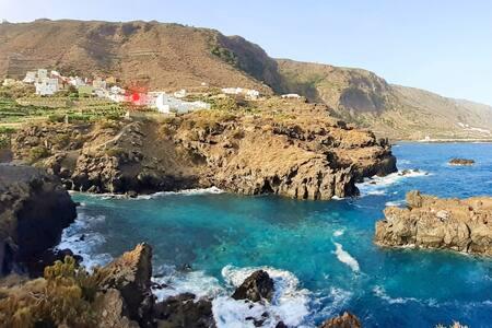 Espectaculares vistas al  Roque de Garachico