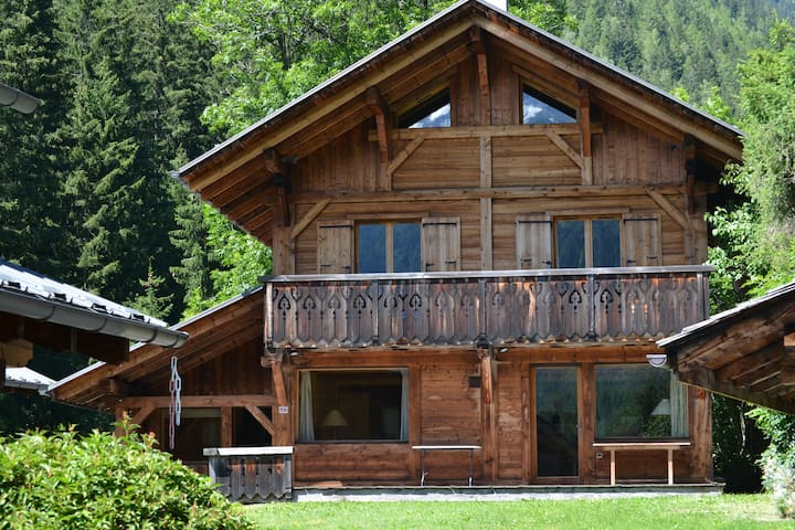 Chalet Scierie - luxury chalet with hot tub
