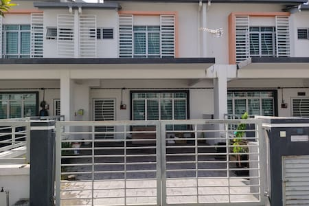 The Pines Homestay. Double storey terrace house