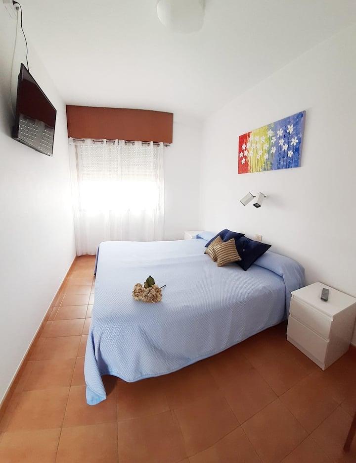 Hotel La Terraza - Habitación Doble Económica  con 1 cama grande