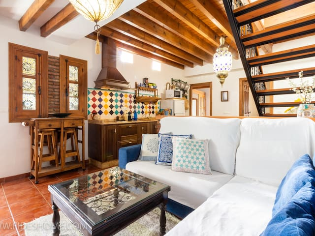 Nice rustic house with charm in Nigüelas