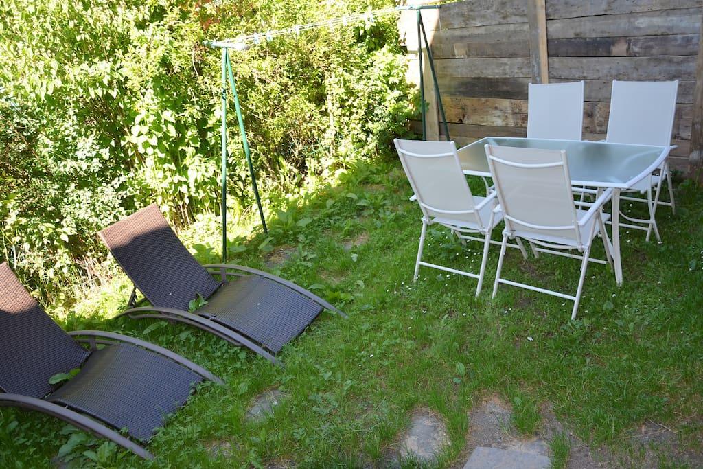 petit jardinet privatif