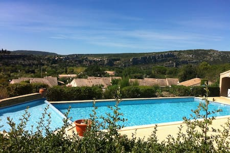 Saint Martin d'Ardeche Les Roches vertes - Saint-Martin-d'Ardèche - Rumah