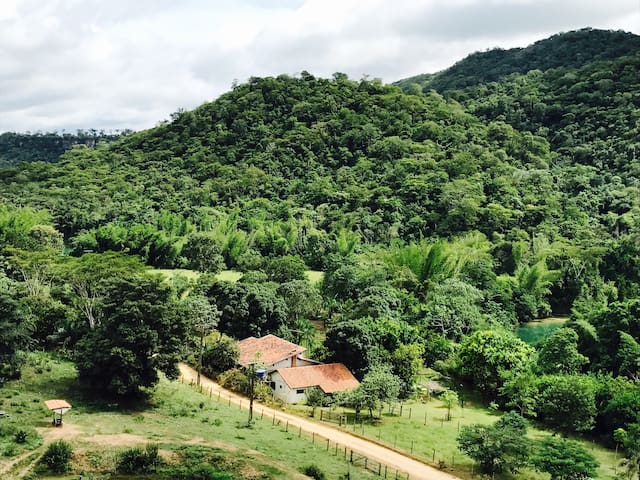 Chácara AMARABEL - Bodoquena/MS - Colônia Canaã - Cabaña