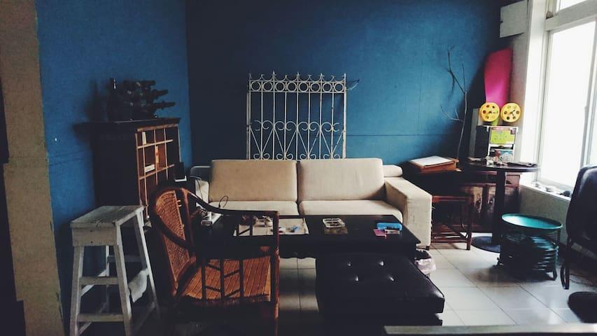 Hippie Inn-2|YungHo|YungAn Market|4 pipo - 台北 - Casa