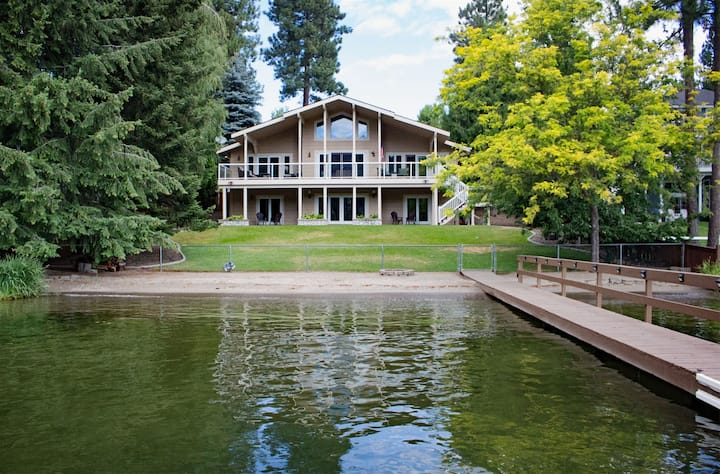 Osprey Beach House | Elegant Riverfront Home with private dock and room for everyone