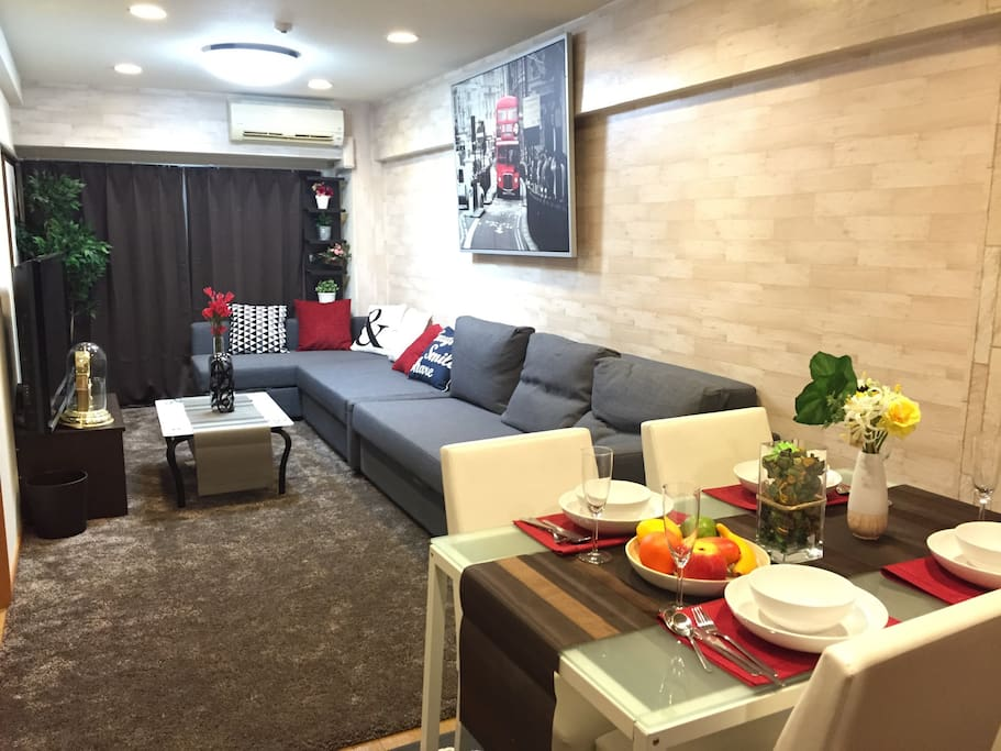 65 square meters Family size Apartment