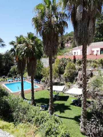 Swimming pool of the SPA of Caldas de Monchique (not free entrance)