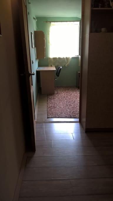 Вход в южную комнату