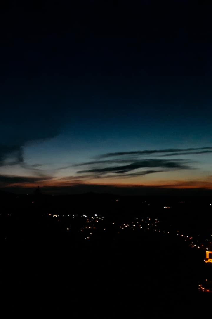 Night Sky over Füssen