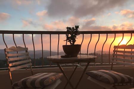 Cozy little space in the open hills of Jerusalem