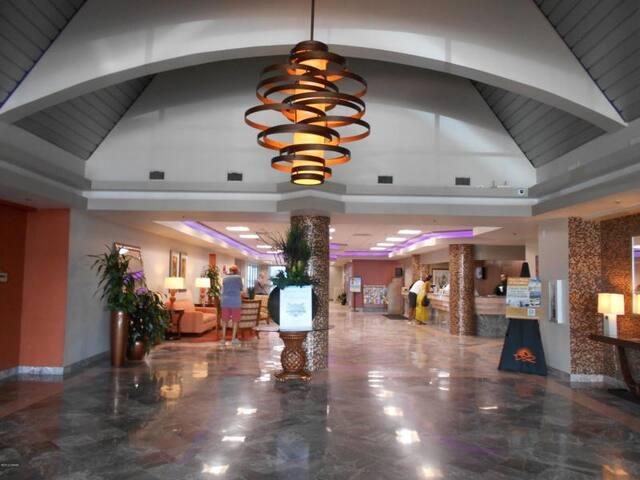 Resort entrance hall