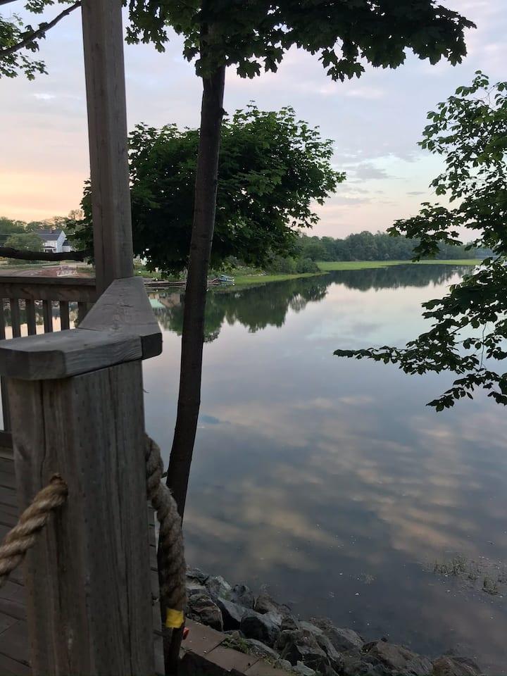 River Retreat-main level  Private boat slip