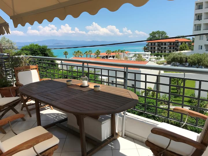Hanioti Summer House with amazing sea views