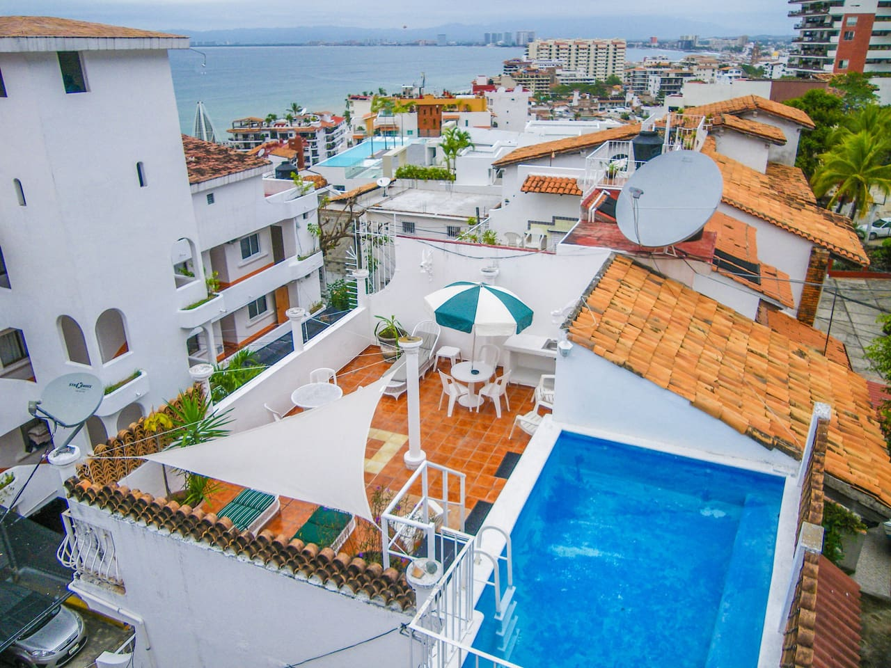 Rooftop Terrace with private pool