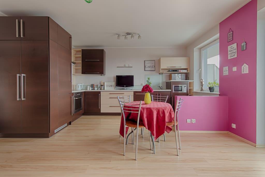 Idealny apartament dla wszystkich.