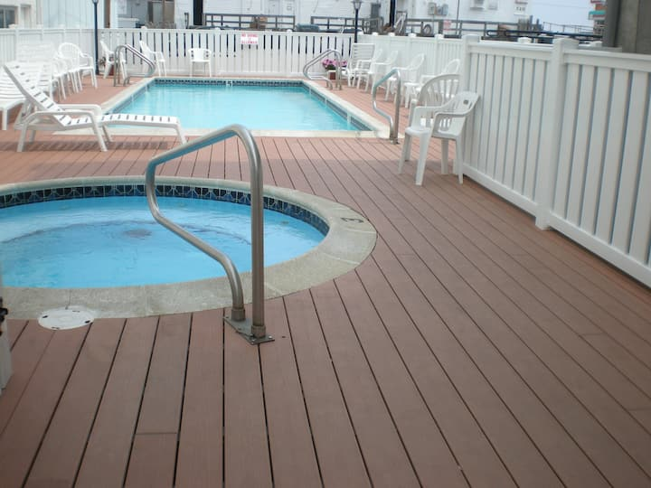 Oceanside Beach Block with Pool #33