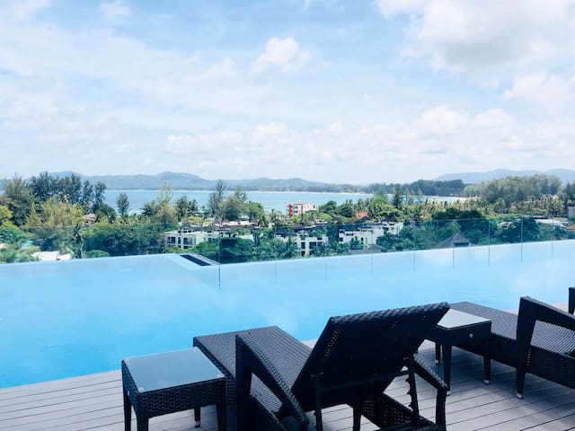 Aristo2Surin roof top pool by Investing In Phuket